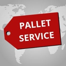 Pallet Shipping Services From The UK