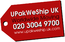 UPakWeShip UK Logo
